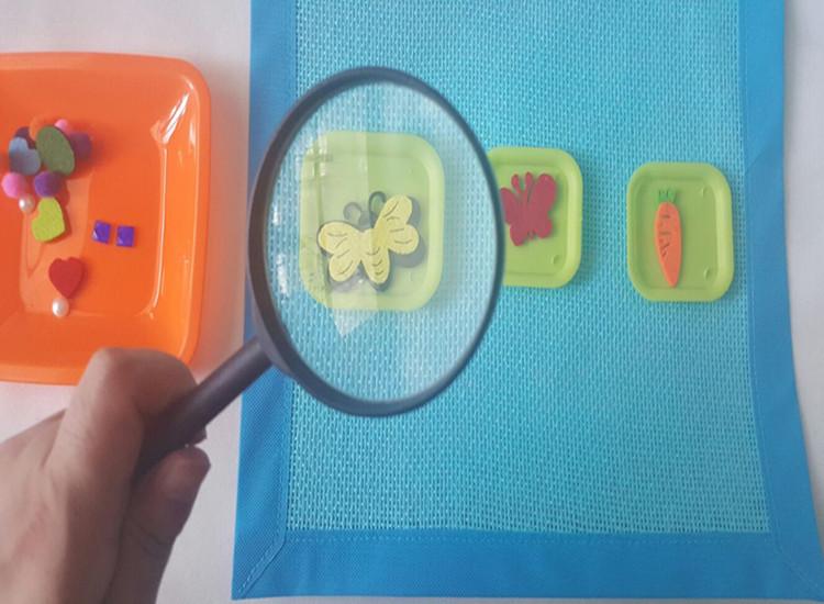 幼儿园区角区域游戏互动操作玩教具 幼儿园科学区放大