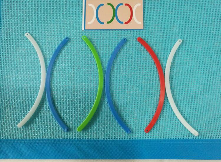 幼儿园区角区域游戏活动投放材料幼儿园自制颜色方位