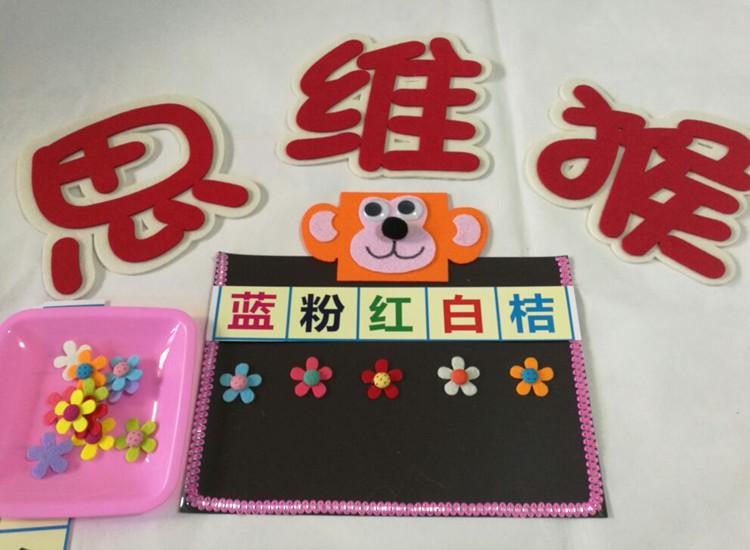 幼儿园区角区域游戏活动玩教具 幼儿园心情情感情商