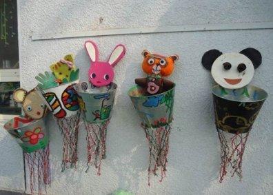 幼儿园自制玩教具投篮玩教具手工制作