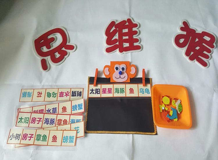 幼儿园区角游戏活动玩教具 幼儿园识字玩教具 幼儿角
