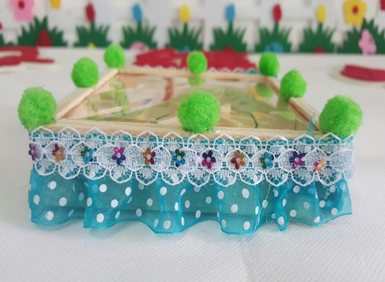 幼儿园手工制作自制玩教具迷宫 幼儿园区域活动手掌迷宫玩教具